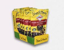 6 pcs Box Crespo Pitted Dry Black Olives Pouch